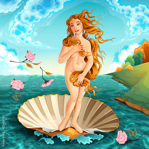 Poster Chambre d enfant Interpretation of Venus