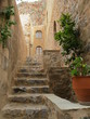 kleine gasse in monemvasia