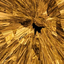Golden Abstract Objects