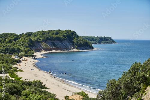 Fotomural  Beach on the bay Kaliningrad region. Svetlogorsk