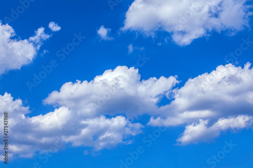 Canvas Prints Heaven Clouds with blue sky
