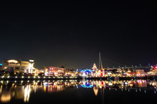 Universal Studios Japan At Night