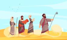 Bible Narratives Moses Composition