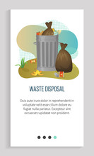 Waste Disposal, Tank Of Garbag...