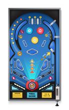 Pinball Machine Realistic Image