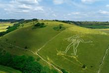 United Kingdom, England, Dorset. Cerne Abbas Giant