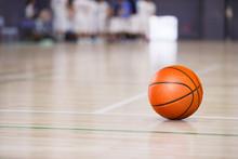 バスケットボールの試...