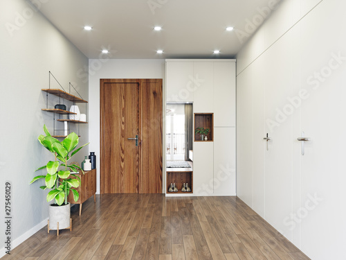 modern entrance interior design.