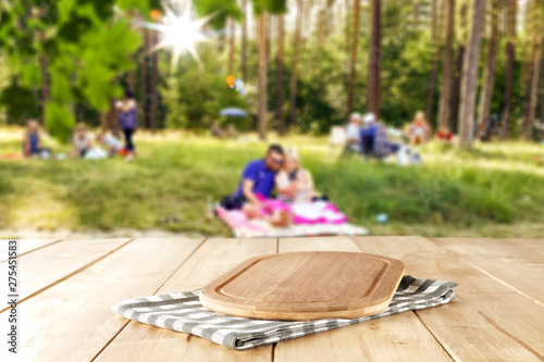Summer blurred background and free space for your decoration.