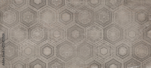 Fotomural  seamless background with pattern, decor tile background