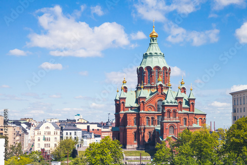 Canvas Print Uspenski Cathedral, Helsinki