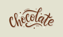 Happy Chocolate Day Postcard O...