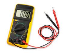 Yellow Digital Multimeter Elec...