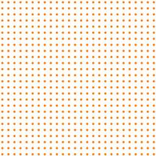 White Background With Orange Dots