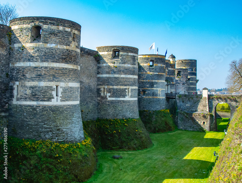 angers chateau Wallpaper Mural