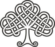 Shamrock. Celtic Tattoo