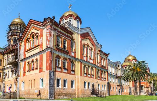 Fototapeta  New Athon, Abkhazia - June 10, 2015: Cathedral of St