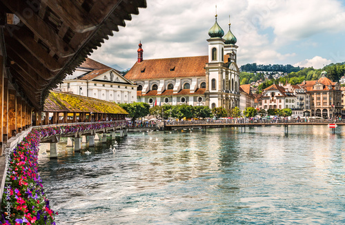 Foto Historic city center of Lucerne