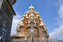 Scenic View Of Wooden Orthodox...