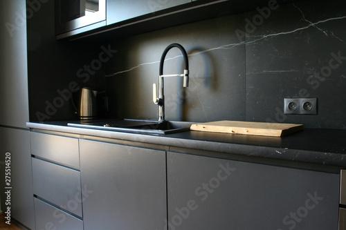 Fototapeta Nowoczesne wnętrze kuchni obraz