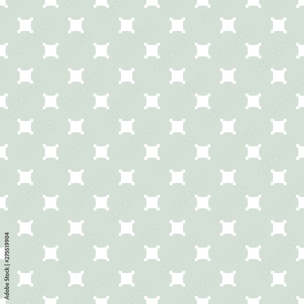 Fototapeta Vector vintage seamless pattern with square shapes. Simple geometric background
