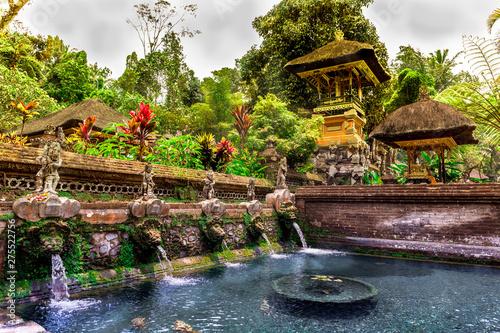 Door stickers Bali Gunung kawi Sebatu Temple in Bali, Indonesia