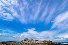 Feather Clouds At Asilomar Beach