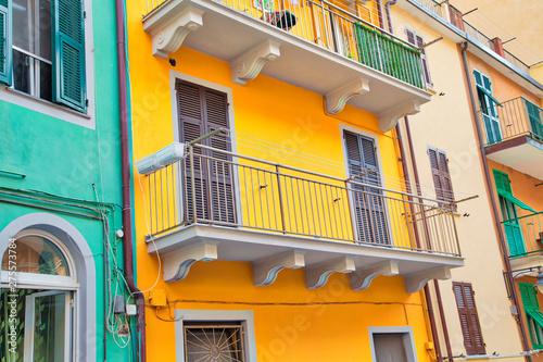Manarola colorful scenic streets Wallpaper Mural