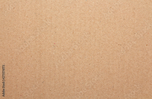 Fotografía  Brown cardboard sheet abstract background, texture of recycle paper box in old vintage pattern for design art work