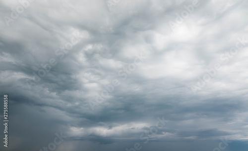 beau ciel gris et orageux Fototapeta