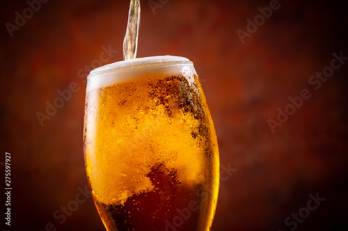 ビールで乾杯 фототапет