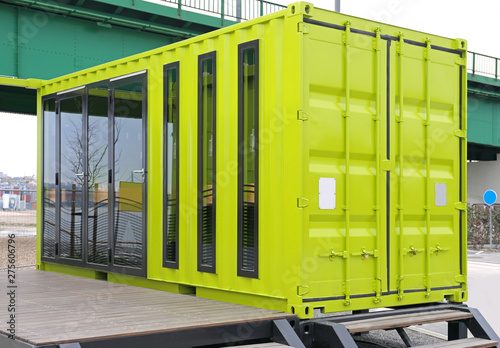 Container Conversion Canvas Print