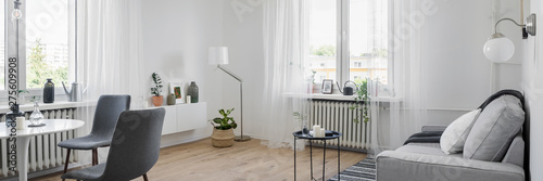 Fotografie, Obraz  Interior with sofa and table