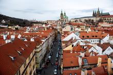 Prague France Street Market Christmas Winter