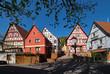 In der Altstadt von Breuberg im Odenwald in Hessen, Deutschland