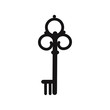 Key vintage icon