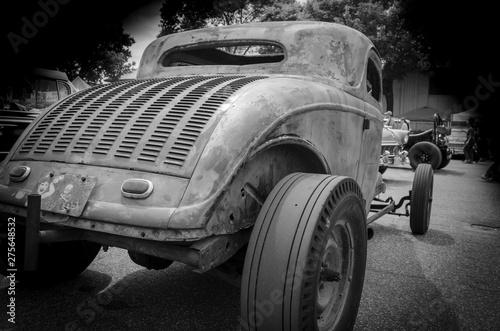 Fototapeta Old hot rod on the road