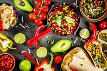 Mexican Food Concept. Cinco De...