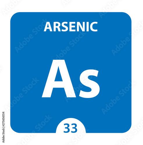 Photo Arsenic symbol