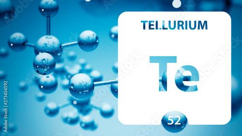 Photo  Tellurium 52 element