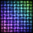 Glowing Checkered Pattern with Light Effect.