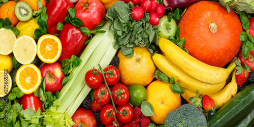 Food Background Fruits And Vegetables Collection Apples Oranges Banner Tomatoes Fruit Vegetable Buy This Stock Photo And Explore Similar Images At Adobe Stock Adobe Stock