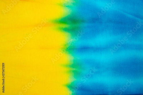 Tie Dye abstract texture and background Tablou Canvas
