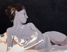 Portrait Nude, Handmade