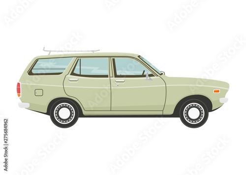 Obraz na plátně Retro estate car