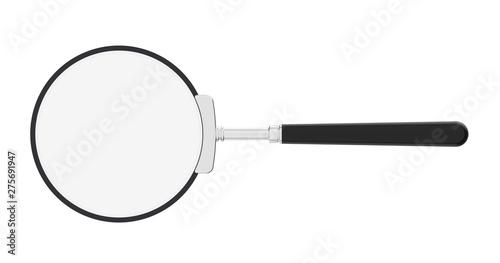 Photo  Magnifying glass. Optics. Loupe.