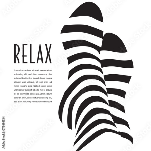 Photo PriA relaxation graphic that can also be used as an icon