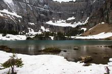 Iceberg Lake In Glacier Nation...