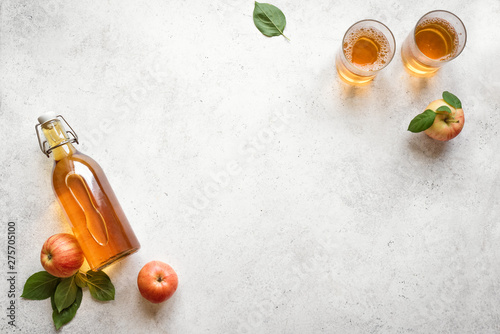 Photo Apple cider drink