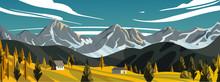 New Zealand Landscape.Green Fi...